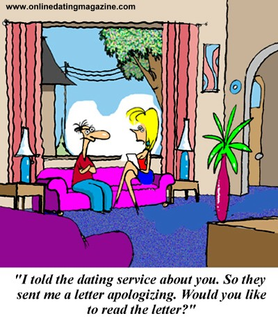 ... Online Dating Magazine presents a new dating cartoon that explores the